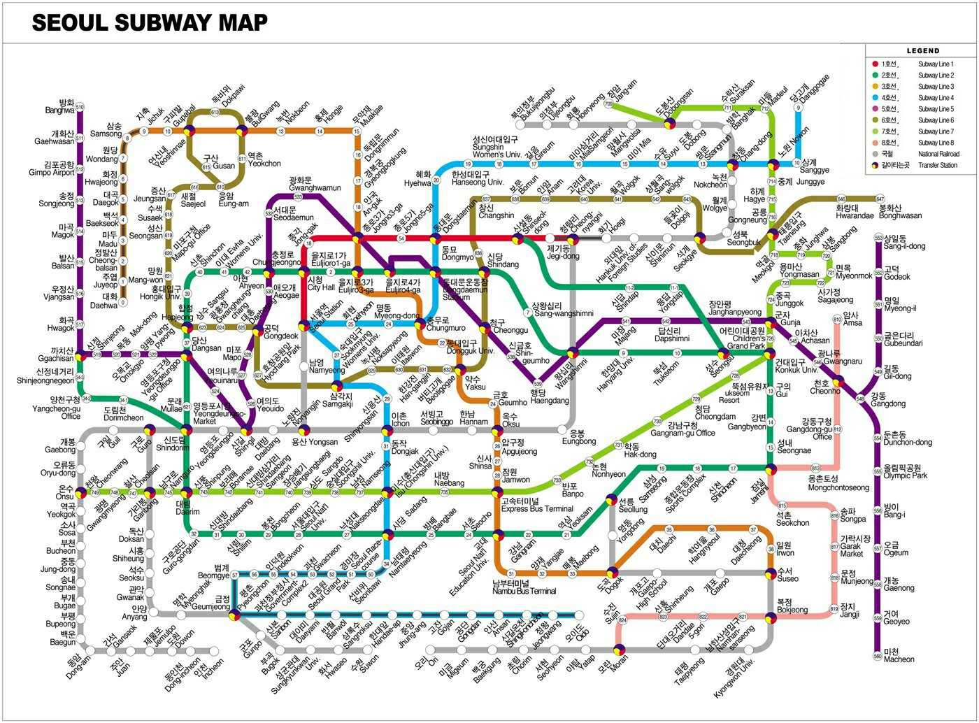 Seoul Subway Map Line 7.Welcome To What S On S Homepage